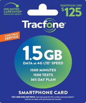 tracfone smartphone plan